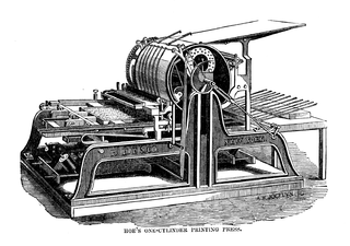 320px-Hoe's_one_cylinder_printing_press