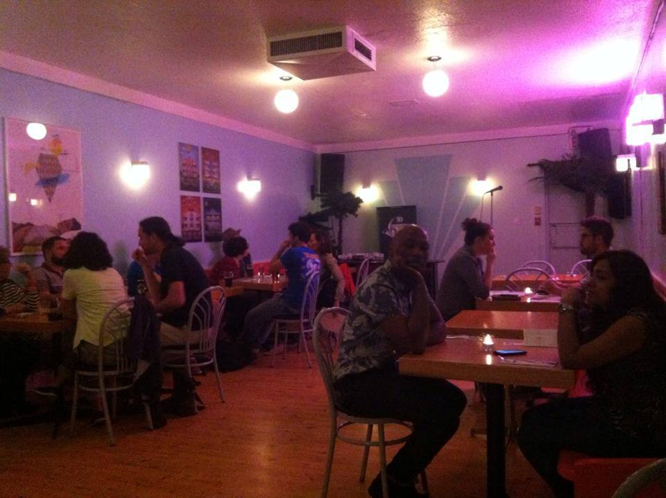 The Steady Cafe on June 12th