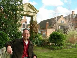 Dennis Denisoff in Corelli garden