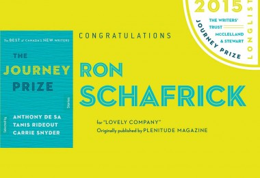 journey prize ron schafrick