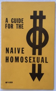 Guide for the Naive Homosexual