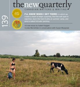 The New Quarterly Open Call @ The New Quarterly Literary Society Inc. |  |  |