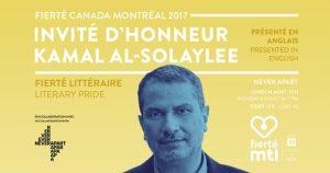 Literary Pride: Kamal Al-Solaylee @ Never Apart |  |  |