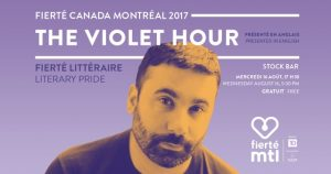 The Violet Hour (Literary Pride) @ Stock Bar |  |  |