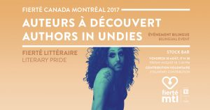 Authors in Undies @ Stock Bar |  |  |